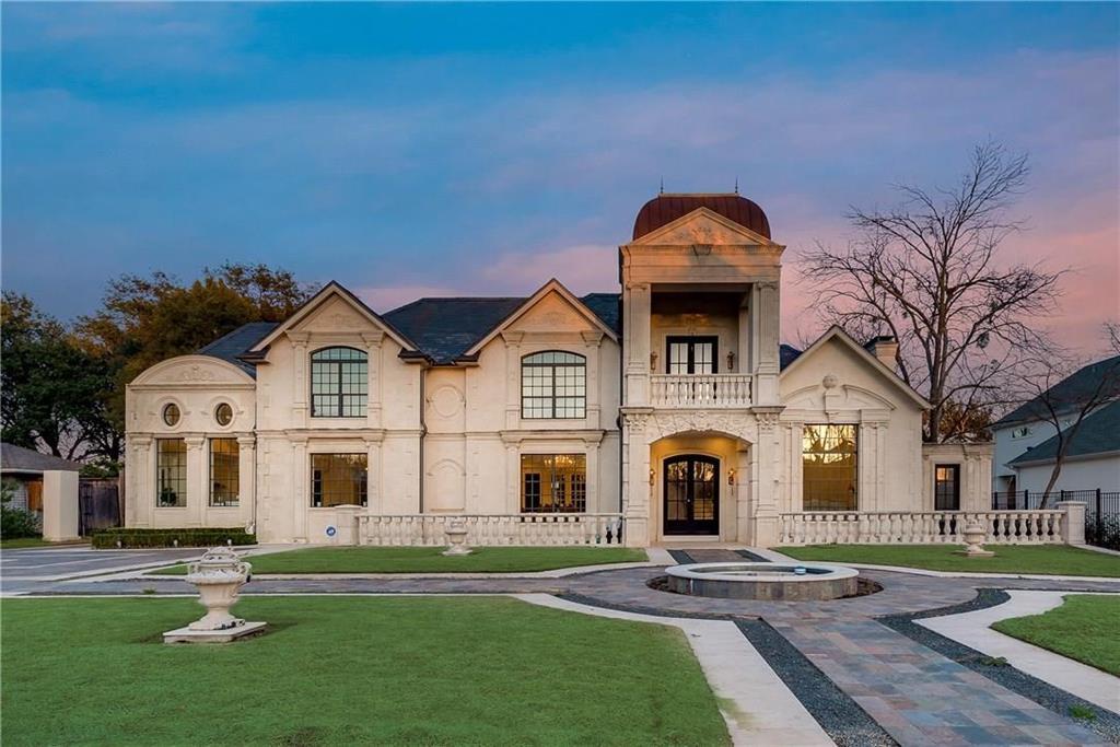 Dallas Neighborhood Home For Sale - $5,950,000